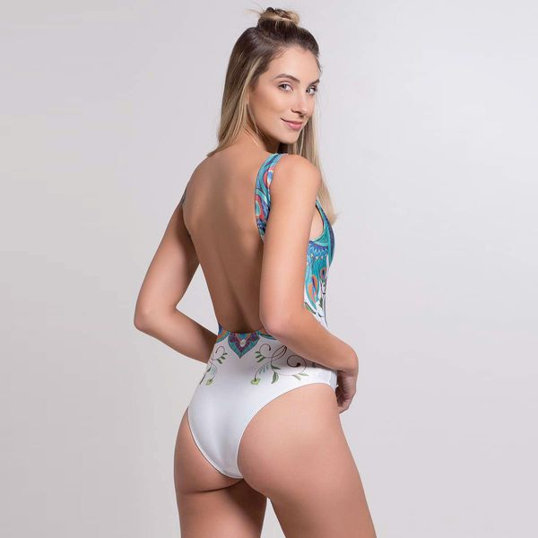 Body Caribe com Decote nas Costas
