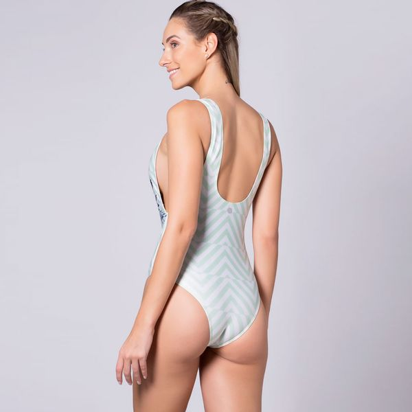 Body Cavado Estampado Sublime