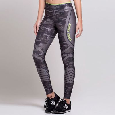 Legging Estampada Army Sweat