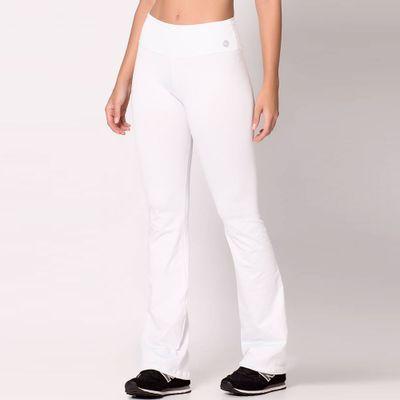 Calça Bailarina de Poliamida Branca