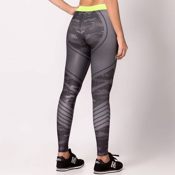 Legging Army Sweat com Elástico