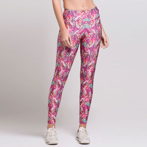 Legging Estampada Leaf Print