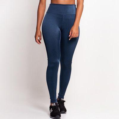 Legging Texturizada Azul