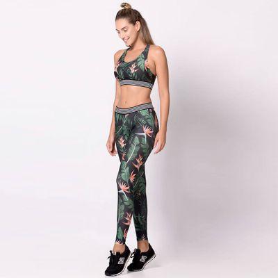 Legging Elástico + Top com Bojo Trend