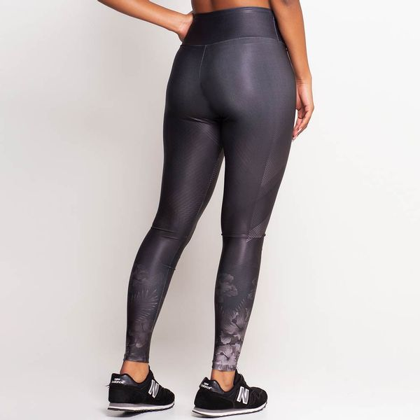 Calça Legging Estampa Carbon