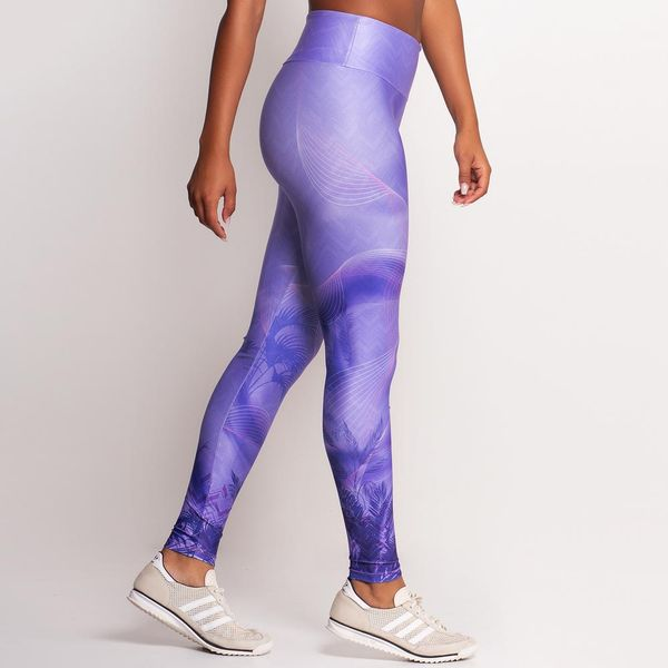 Calça Legging Estampada Violet