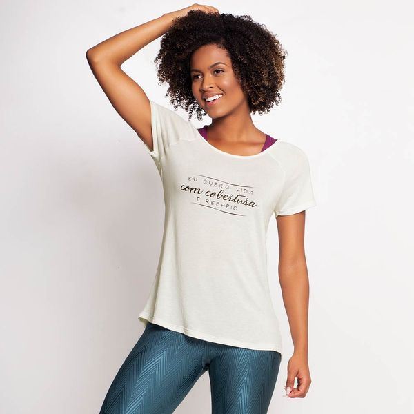 T-Shirt Eu Quero Vida