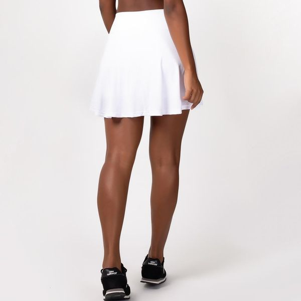 Short Saia Godê Branco
