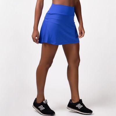 Short Saia Godê Azul