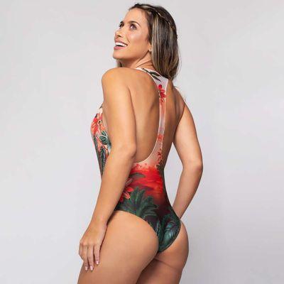 Body Nadador Estampa Sunny