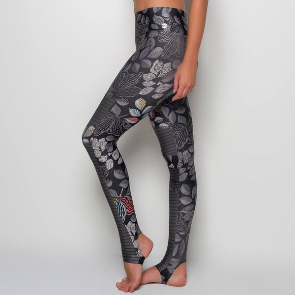 Legging Estampada com Pezinho Color