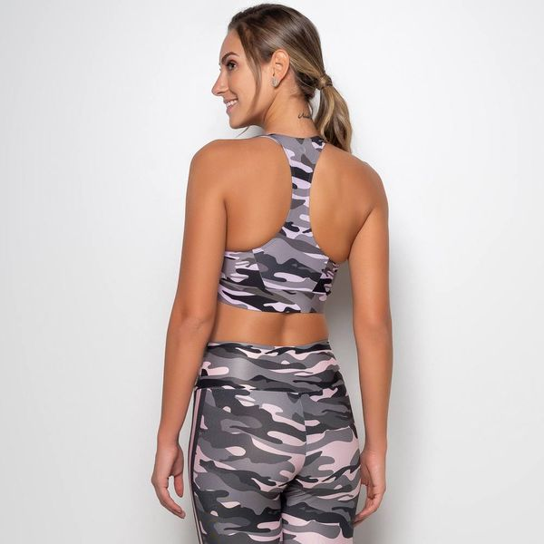 Top Estampado Camuflado