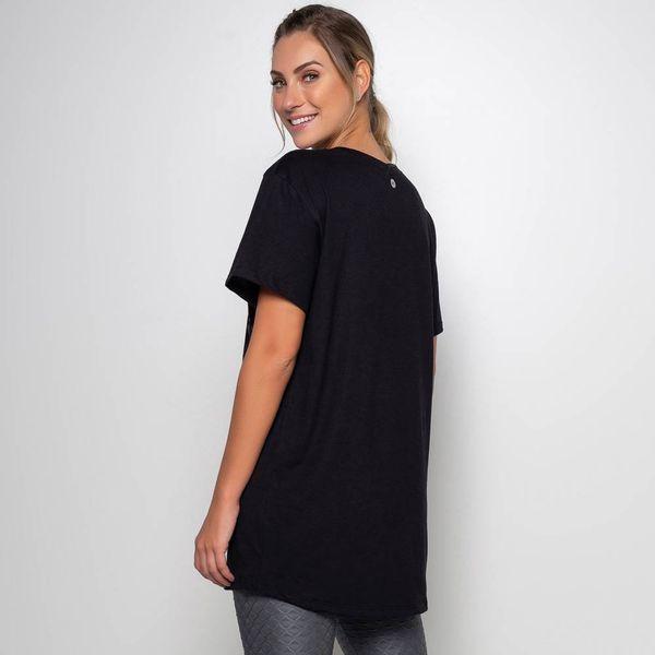 Maxi T-Shirt Preta