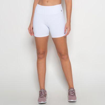 Short Branco de Poliamida