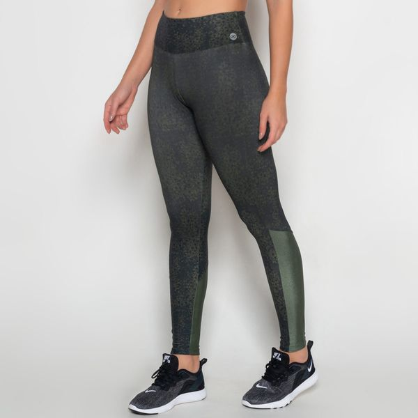 Legging Poliamida Light com Recorte