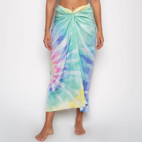 Canga Pareô Estampa Tie Dye