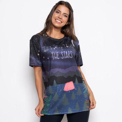 T-Shirt Céu Estrelado