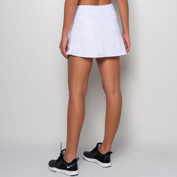 Short Saia Básico Branco