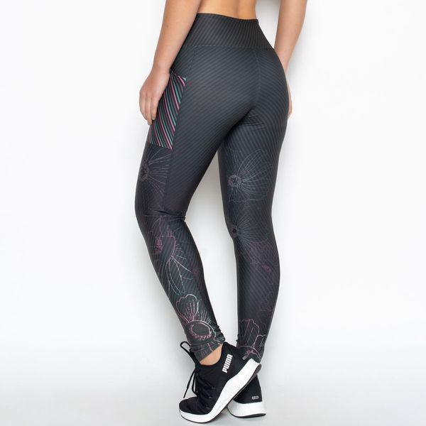 Legging SportFit com Bolso Estampa Despertar