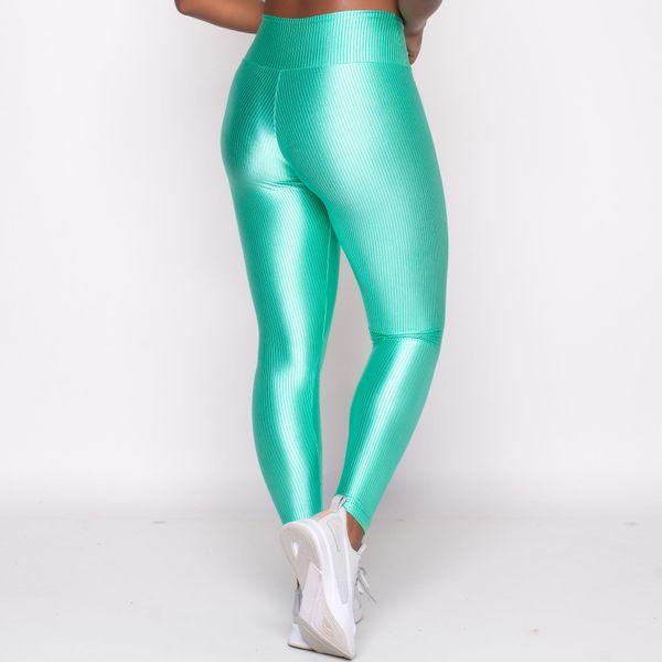 Calça Legging Texturizada Verde
