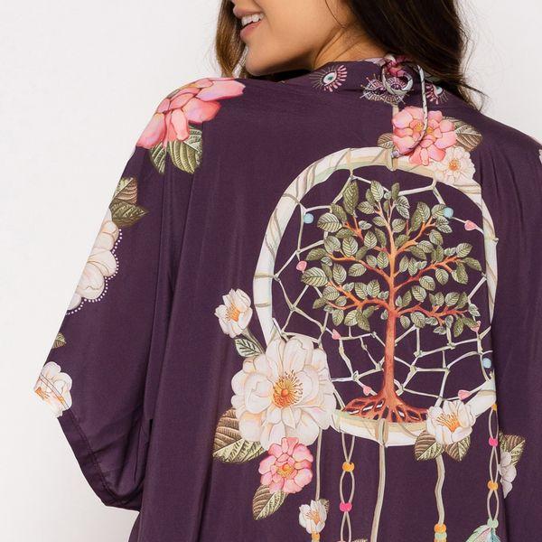 Kimono Estampado Talismã