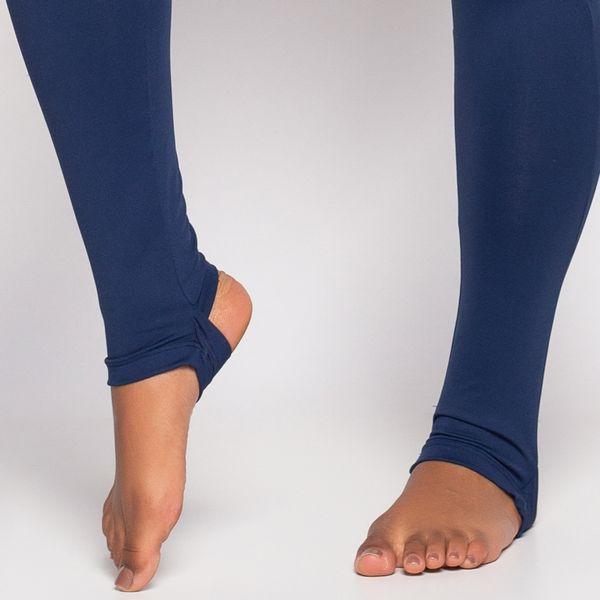 Legging de Poliamida com Pezinho