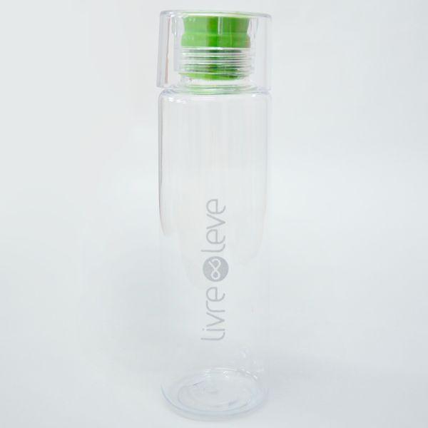 Garrafa Acqua com Detalhe Verde
